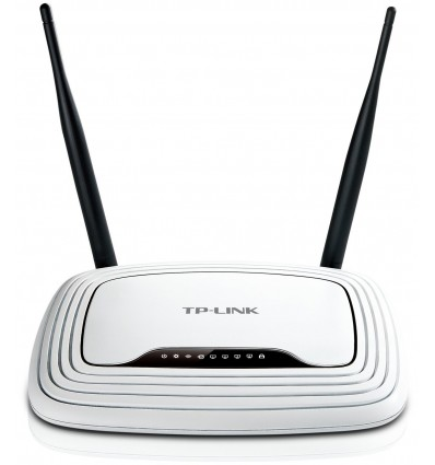 ROUTER TP-LINK BROADBAND WIFI-N 300Mbps 2 ANTENAS 4 PUERTOS TL-WR841ND